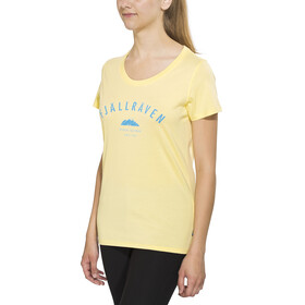 Fjällräven Trekking Equipment T-shirt Women Pale Yellow